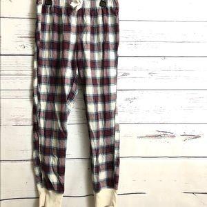 Hollister Plaid Flannel Lounge Pants
